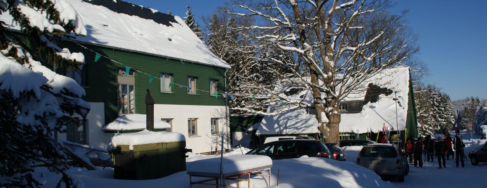 Torfhaus im Winter